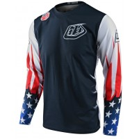 2020 Troy Lee Designs TLD GP LIBERTY Motocross Jersey White Navy