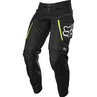 2021 Fox Legion Enduro Offroad Pants Black Flo Yellow