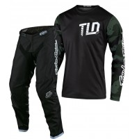 2020 Troy Lee Designs TLD GP CAMO Motocross Gear Green Black SMALL ONLY