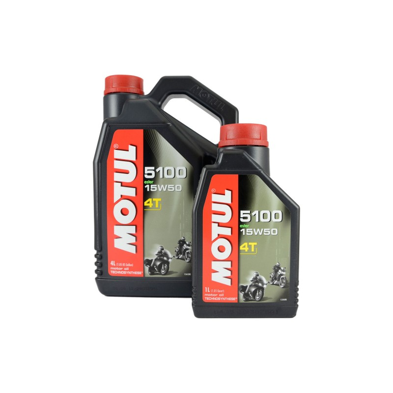 Motul 5100 Semi Synthetic 4 Stroke Engine Oil