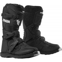 Thor Blitz XP Kids Youth Motocross Boots Black UK1 ONLY