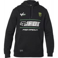 Fox Procircuit Monster Energy Pullover Fleece Hoody Black MEDIUM or LARGE ONLY