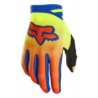 Fox Dirtpaw OKTIV Motocross Gloves YELLOW