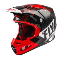 2020 Fly Racing Formula Carbon MIPS Motocross Helmet Red White Black