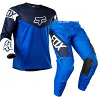 2021 Fox 180 Youth Kids Motocross Gear REVN BLUE