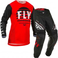 2020 Fly Racing Kinetic K220 Motocross Gear Red Black White