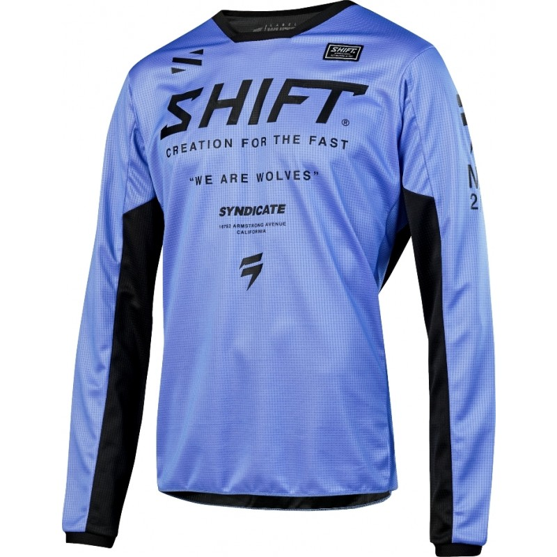 2019 Shift WHIT3 Label MUSE Motocross Jersey PURPLE