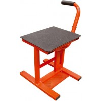 BikeTek Step on Motocross Bike Stand RED