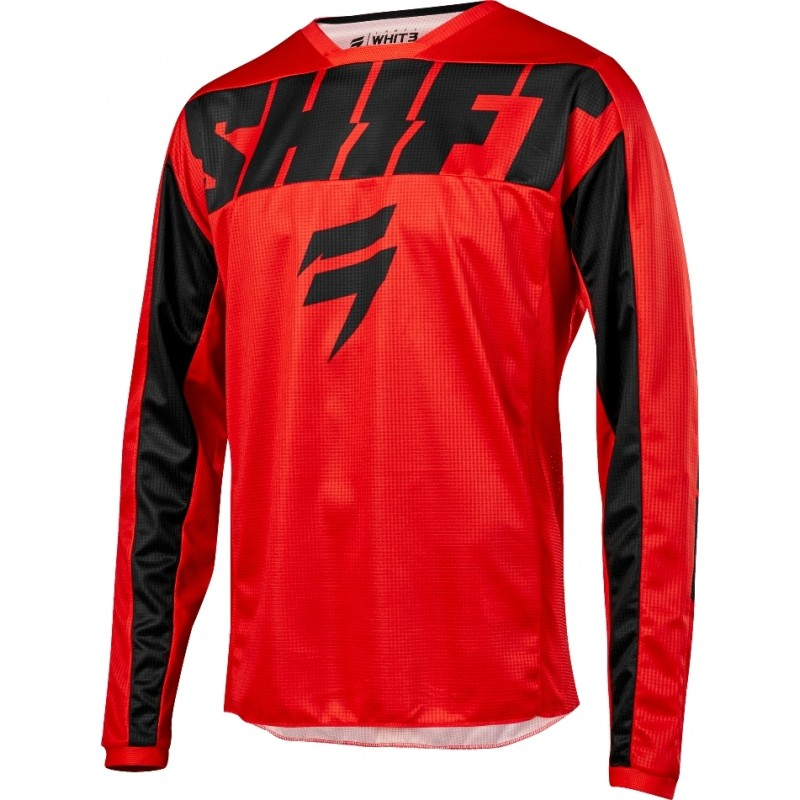 2019 Shift WHIT3 Label YORK Motocross Jersey RED XL ONLY
