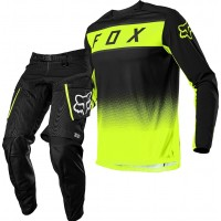 2021 Fox Legion Enduro Offroad Gear Black Yellow