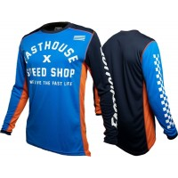 Fasthouse HERITAGE Motocross Jersey BLUE