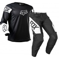 2021 Fox 180 Youth Kids Motocross Gear REVN BLACK