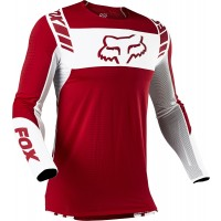 2021 Fox Flexair Motocross Jersey MACH ONE FLAME RED LARGE or XL ONLY