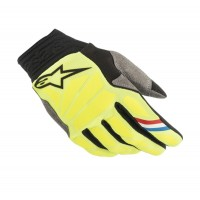 2019 Alpinestars Aviator Motocross Gloves Flo Yellow Black