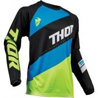 Thor Sector SHEAR Motocross Jersey BLACK ACID 3XL ONLY
