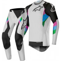 2019 Alpinestars Supertech LE Vision Cool Grey Black Motocross Gear
