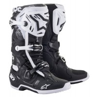 2021 Alpinestars Tech 10 Motocross Boots Black White UK8 or UK9 ONLY