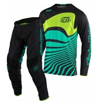 2020 Troy Lee Designs TLD GP AIR DRIFT Motocross Gear Black Turquoise ONLY