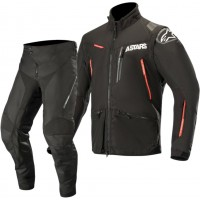 Alpinestars Venture R Enduro Gear Pants & Jacket BLACK RED 30 ONLY