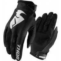 Thor Sector Kids Youth Motocross Gloves BLACK