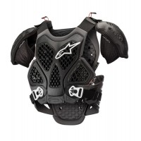 Alpinestars Bionic Armour ACU CE Approved EN1621 Chest Protector BLACK